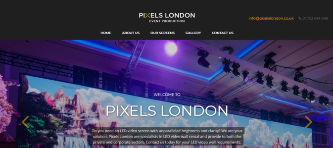 Pixels London